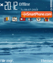 Sea 5801 theme screenshot