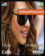 Jessica alba theme screenshot