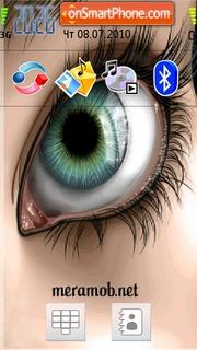 Eye Effect es el tema de pantalla