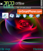 RedAbstract tema screenshot