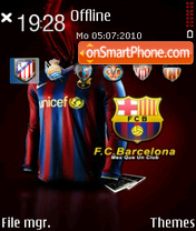 Barcelona 10 es el tema de pantalla