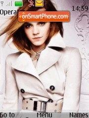 Emma Watson 20 theme screenshot