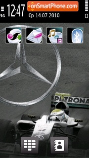 Mercedes 3254 Theme-Screenshot