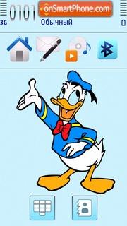 Donald Duck 12 theme screenshot