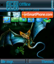 Bat theme screenshot