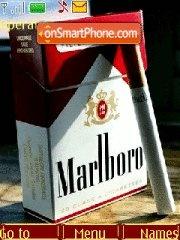 No smoking ! please ! theme screenshot