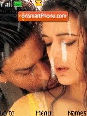 Shahrukh + Preity theme screenshot