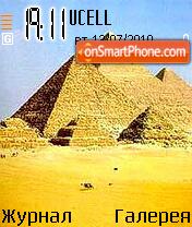 Egipet piramid es el tema de pantalla