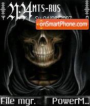 Face of Death es el tema de pantalla