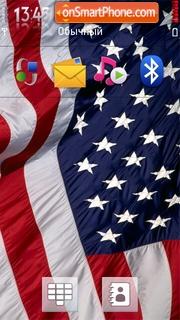 Usa Flag 01 theme screenshot