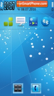 Ice 2 tema screenshot