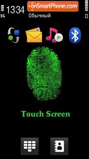 Скриншот темы Touch Screen 03
