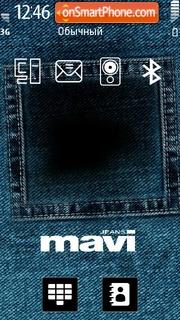 Mavi Jeans es el tema de pantalla