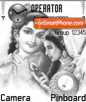 RadhaKrishna theme screenshot