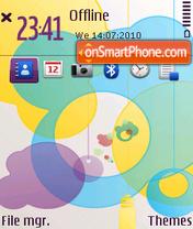 Supernova v3 theme screenshot