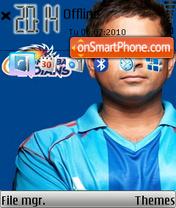 Sachin Tendulkar 01 theme screenshot