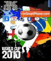 Fifa World Cup 2012 theme screenshot