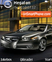 Acura-TL theme screenshot