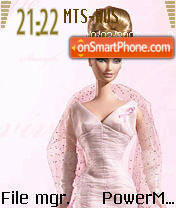 Barbie 1 theme screenshot