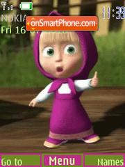 Cute Doll 01 es el tema de pantalla