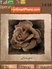 Rose ashes theme screenshot