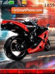 Biker 01 theme screenshot
