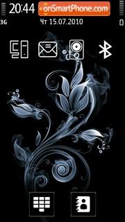 Flower Abstract 02 theme screenshot