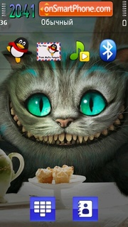 Cheshire Cat 01 theme screenshot