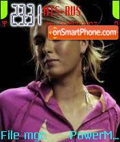 Sharapova es el tema de pantalla