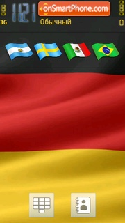Germany Flag theme screenshot