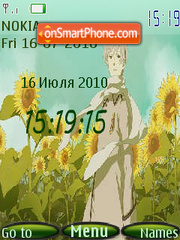 Rossia kun theme screenshot