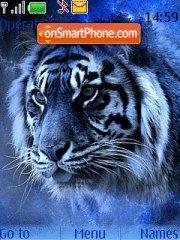 Blue Tiger 01 Theme-Screenshot