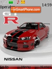 Nissan Gtr 12 theme screenshot