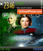 Star Trek: Voyager es el tema de pantalla