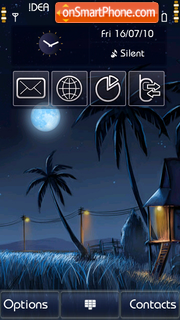 Moonlight v5 theme screenshot
