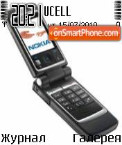 Nokia 6260 es el tema de pantalla
