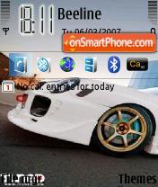 Subaru Impreza WRX es el tema de pantalla
