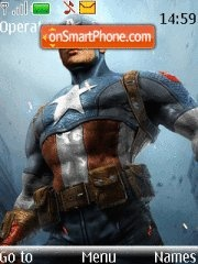 Captain America 04 theme screenshot