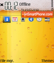 Beer 04 theme screenshot