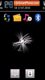 Black Dragon 01 Theme-Screenshot