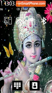 Lord Krishna 03 es el tema de pantalla