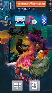 Abstract Music 03 tema screenshot