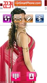 Скриншот темы Vidya Balan 01