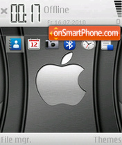 Black Apple 02 theme screenshot