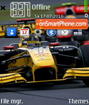 Kubica And Hamilton theme screenshot