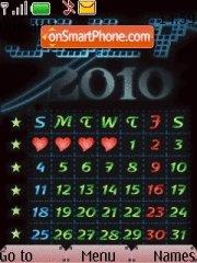 Capture d'écran July Calendar 2010 thème