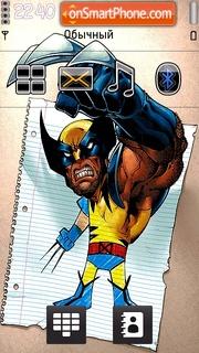 Wolverine 3d tema screenshot