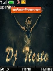 Tiesto tema screenshot
