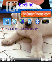 Скриншот темы Dog