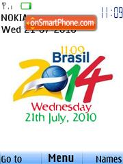 Fifa Cup 2014 Clock 01 es el tema de pantalla